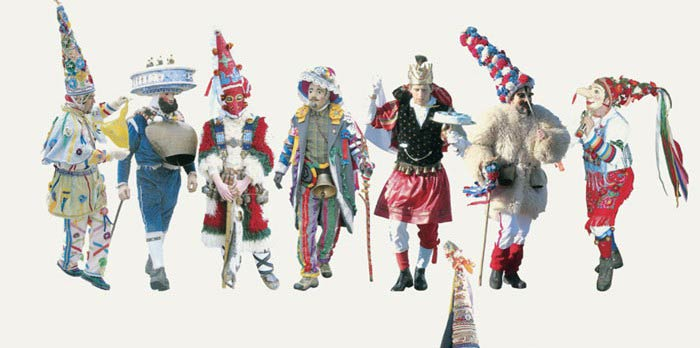 Carnevale re d'Europa, viaggio antropologico nelle mascherate d'inverno