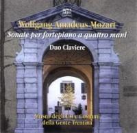 cdMozart Sonate per fortepiano a quattro mani.